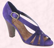 Shoe 23 - Purple shoe �44.99/ �75.50 River Island Clothing Co. Ltd., Summer Footwear 2008